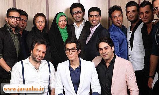عکس آزاده نامداری و فرزاد حسنی در کنسرت مرتضی پاشایی