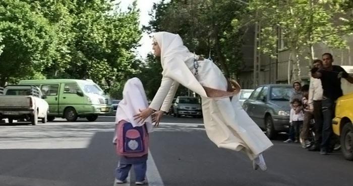 مهسا احمدی ، دختر بدلکار ایرانی